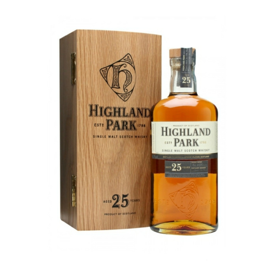 高原骑士25年 单一麦芽苏格兰威士忌 Highland Park Aged 25 Years Single Malt Scotch Whisky 700ml